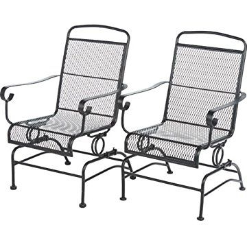 Patio Rocking Chairs Sets With Favorite Maybe 2 Of These Outdoor Steel Mesh Patio Rocking Chair Set For Ctyd (View 4 of 20)
