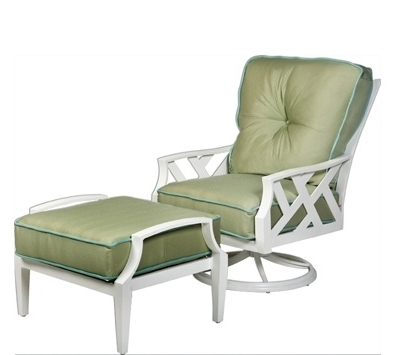 Patio Rocking Chairs With Ottoman With Most Recently Released Swivel Rocking Chairs For Patio – Power Chairs Collection (View 12 of 20)