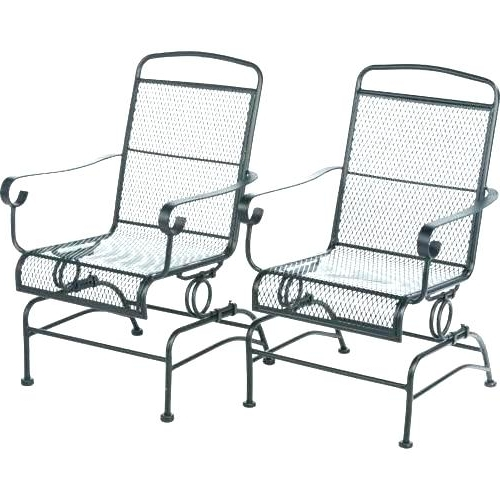 Patio Rocking Chairs With Well Liked Awesome Outdoor Patio Rocking Chairs Wicker With Cushions Chair (View 15 of 20)