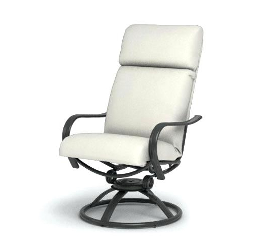 Patio Rocking Swivel Chairs Intended For 2018 Delightful Patio Swivel Chairs High Rocking Swivel Patio Chairs High (View 12 of 20)