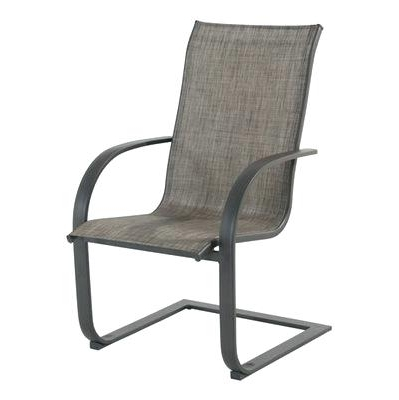 Patio Sling Rocking Chairs Pertaining To Most Recently Released Sling Back Patio Chairs Garden Treasures Seat Dining Chair Set Of  (View 12 of 20)