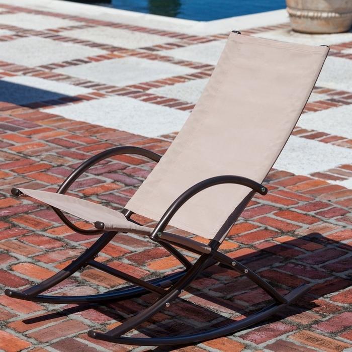 Patiosense Chamonix Rocking Chair (View 17 of 20)