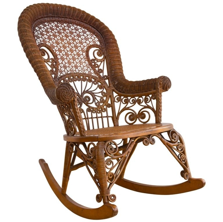 Pinterest Intended For Antique Wicker Rocking Chairs (View 14 of 20)