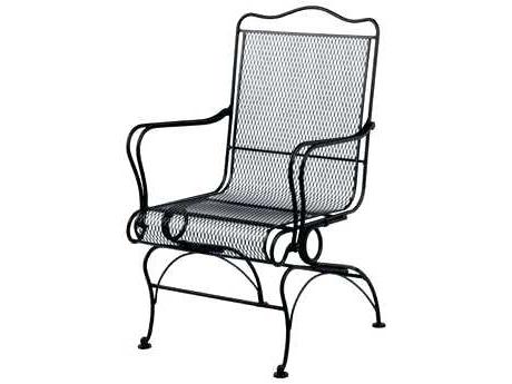 Popular Iron Rocking Patio Chairs Pertaining To Wrought Iron Rocker Patio Chairs Furniture Outdoor Rocking – Brandgap (View 7 of 20)