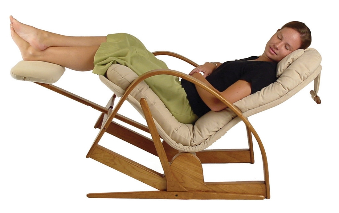 Popular Rocking Chairs With Lumbar Support Pertaining To Ergonomics Of Klein Design Chairs – Brigger Furniture (View 14 of 20)