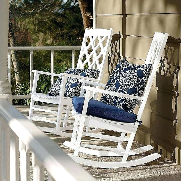Porch Rocking Chair Deck Rocking Chair Porch Rocking Chairs Amazon Inside Current Used Patio Rocking Chairs (View 7 of 20)