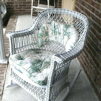 Preferred Antique Wicker Rocking Chairs With Springs In Old Wicker Rocking Chair Wicker Rocking Chair Antique Indoor Wicker (View 14 of 20)