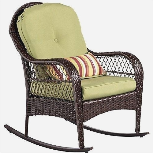 Preferred Indoor Wicker Rocking Chairs Intended For Indoor Wicker Rocking Chair Simple Elegant Wrought Iron Patio (View 16 of 20)
