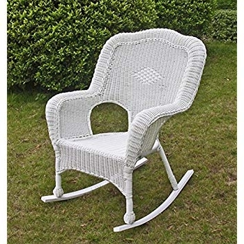 Preferred Resin Wicker Rocking Chairs Throughout Amazon: International Caravan 3182 1Ch Wt Ic Furniture Piece (View 9 of 20)
