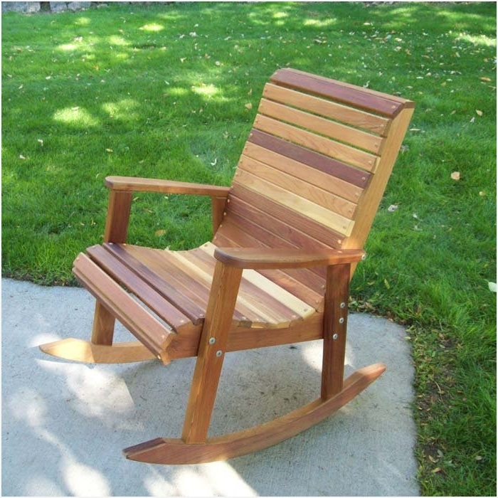 Preferred Rocking Chair Patio Furniture » A Guide On Garden Patio Furniture Pertaining To Patio Wooden Rocking Chairs (View 15 of 20)