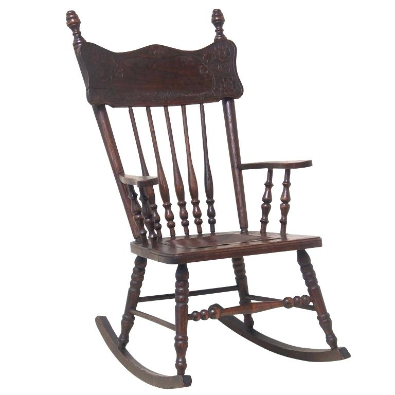 Preferred Style Rocking Chair With Cane Back And Seat Victorian Chairs Uk Inside Old Fashioned Rocking Chairs (View 16 of 20)