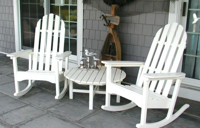 Recent Rocking Chairs For Outside Intended For Outdoor Rocking Chair Set Resin Wicker Chairs Designs Modern Patio (View 11 of 20)