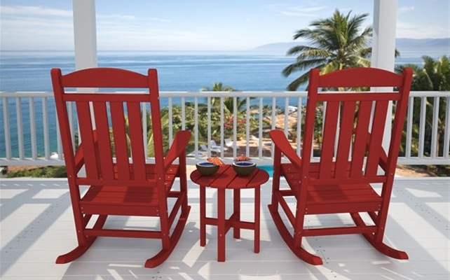 Red Patio Rocking Chairs In Most Recent Rocking Chairs For Porch Outdoor – Ungrounded (View 6 of 20)