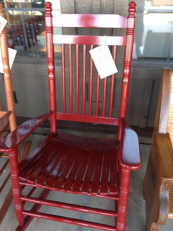 Red Patio Rocking Chairs Regarding Trendy Chair Cushions Cushions For Outdoor Rocking Chairs Rocking Chair And (View 14 of 20)