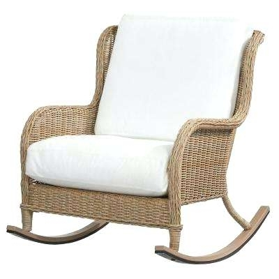 Resin Patio Rocking Chairs Regarding Most Recently Released Resin Wicker Rocking Chair Resin Wicker Rocking Chairs – Dobaebacsa (View 5 of 20)