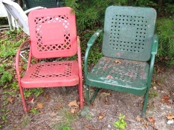 Retro Lawn Chair Patio Lawn Chairs A How To Vintage Outdoor With Most Up To Date Retro Outdoor Rocking Chairs (View 12 of 20)
