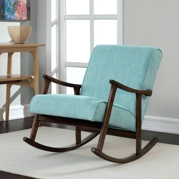 Retro Rocking Chairs Throughout Newest Best Vintage Wooden Rocking Chair R8985005 – Decorating Ideas (View 16 of 20)
