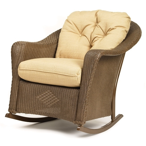 Rocker Cushions With Well Liked Wicker Rocking Chairs With Cushions (View 14 of 20)