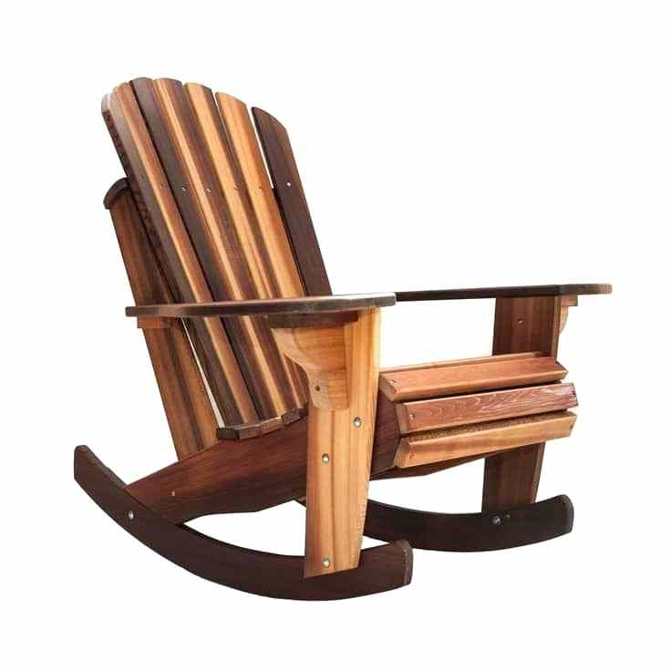 Rocking Chair Kit Cedar Rocker Rocking Chair Plans Rocking Chair Kit For Well Liked Amazon Rocking Chairs (View 19 of 20)