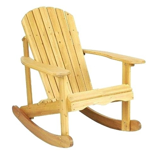 Rocking Chair Outdoor Wooden Within Most Up To Date Outdoor Wooden Chairs Plans Outdoor Wooden Chairs Plans Rocking (View 16 of 20)