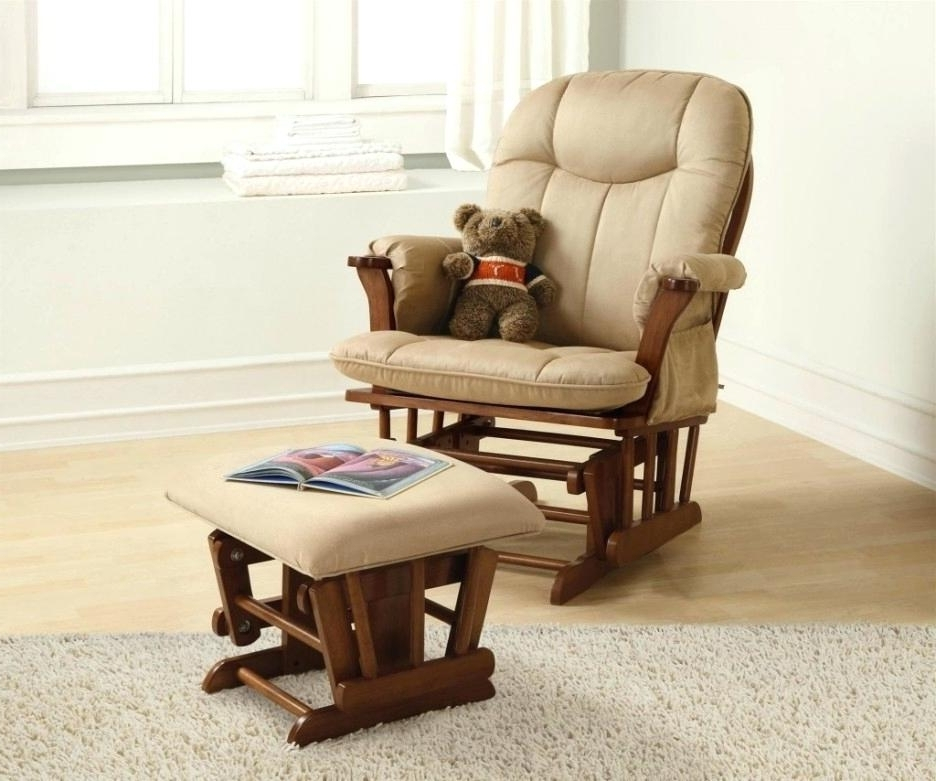Rocking Chair Recliner Nursery Best Chair For Baby Nursery Nursery Intended For Popular Rocking Chairs For Baby Room (View 5 of 20)