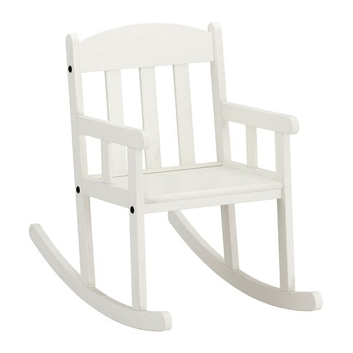 Rocking Chairs At Ikea Regarding Current Sundvik Childrens Rocking Chair – Ikea (View 10 of 20)