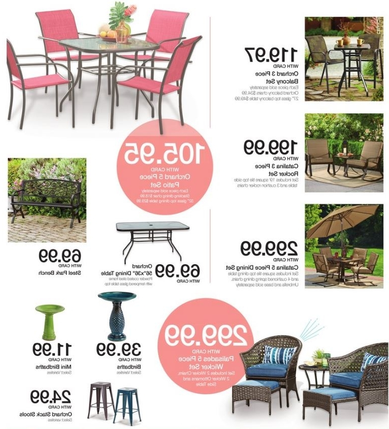 Rocking Chairs At Kroger Regarding Popular Kroger Patio Sale Ad Deals Mar 1 – 7  (View 17 of 20)