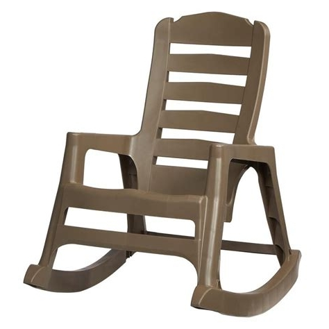 Rocking Chairs At Lowes Pertaining To Most Popular Rocking Chairs Patio Chairs The Home Depot, Outdoor Rocking Chairs (View 5 of 20)