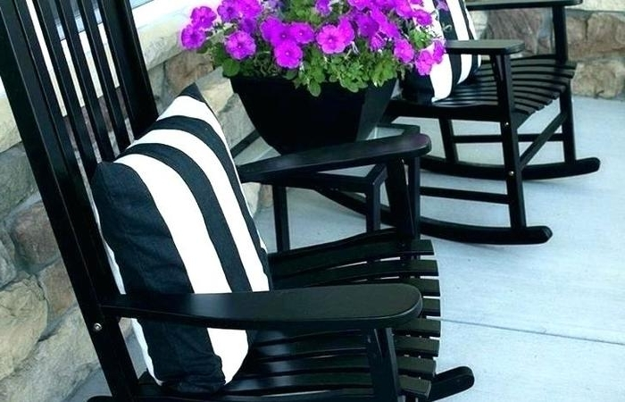 Rocking Chairs At Lowes Throughout 2018 Lowes Rocking Chairs Black Chair Modern Patio And Furniture Outdoor (View 19 of 20)