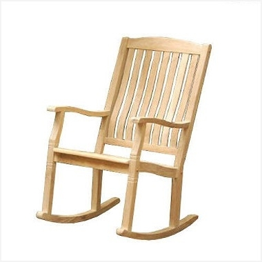 Rocking Chairs At Sam\'s Club With Most Recently Released Covered Patio Gliders » Modern Looks Teak Porch Rocker Sam S Club (View 3 of 20)