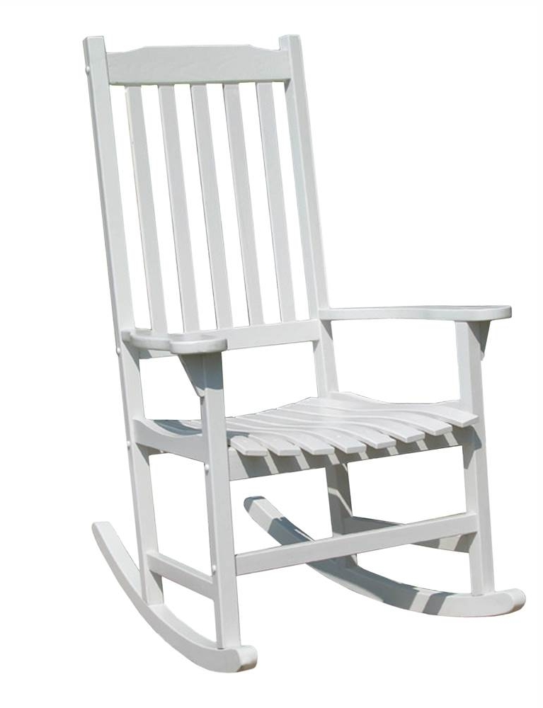 Rocking Chairs At Walmart Regarding Trendy White Traditional Rocking Chair – Walmart (View 13 of 20)
