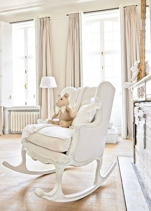 Rocking Chairs For Baby Room Throughout Most Up To Date Baby Nursery: Top Baby Nursery Chairs Ideas Baby Boy Nursery (View 4 of 20)