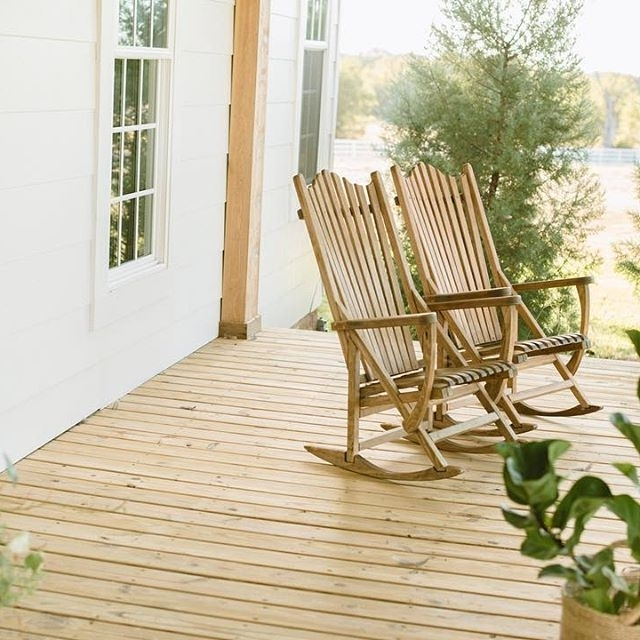 Rocking Chairs For Front Porch With Regard To Fashionable Life On The Farm (View 19 of 20)