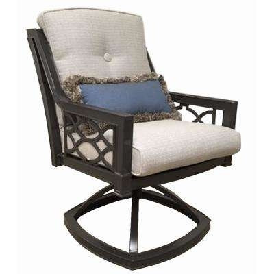 Rocking Chairs For Patio In Most Up To Date Metal Patio Furniture – Rocking Chairs – Patio Chairs – The Home Depot (View 15 of 20)