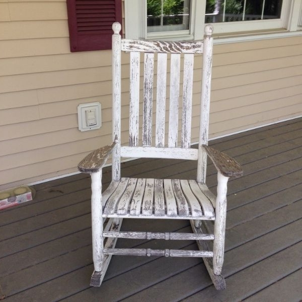 Rocking Chairs For Porch Outdoor – Ungrounded Inside Well Known Vintage Outdoor Rocking Chairs (View 9 of 20)