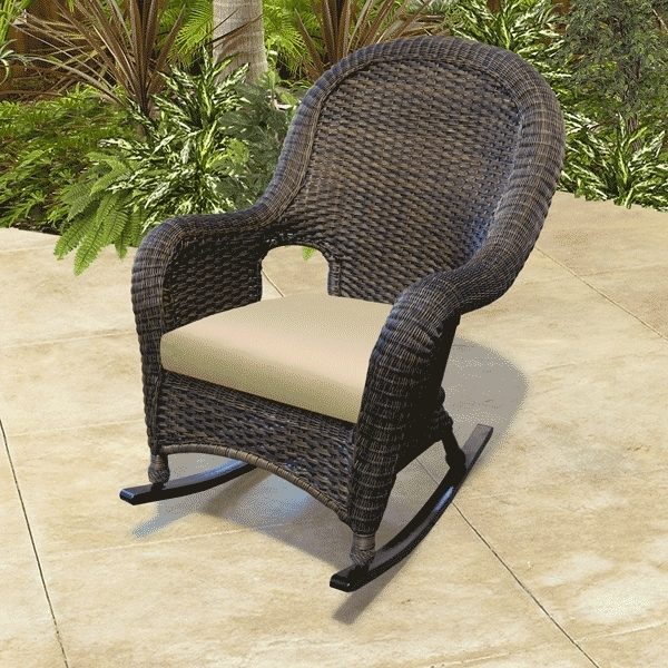 Rocking Chairs For Porch Outdoor – Ungrounded Intended For Most Current White Resin Patio Rocking Chairs (View 8 of 20)