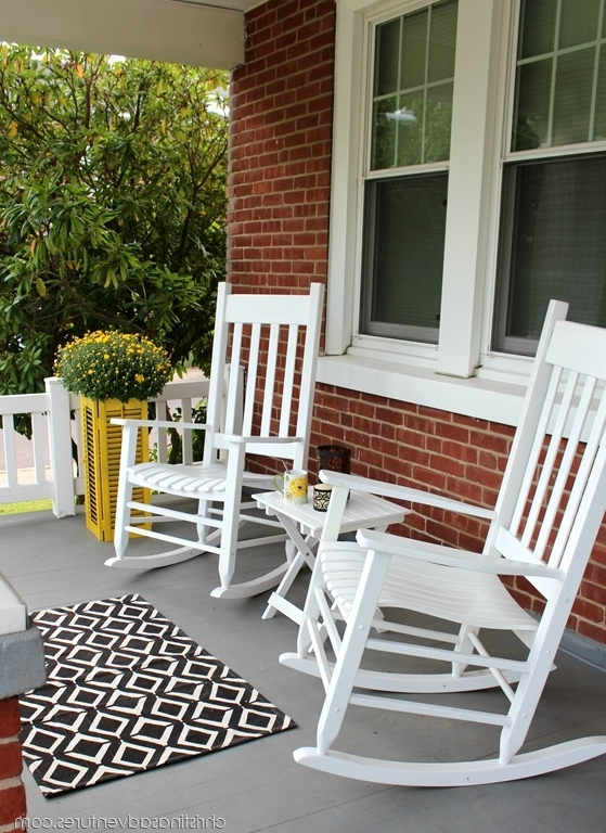 Rocking Chairs For Porch Outdoor – Ungrounded Regarding Most Current Small Patio Rocking Chairs (View 12 of 20)
