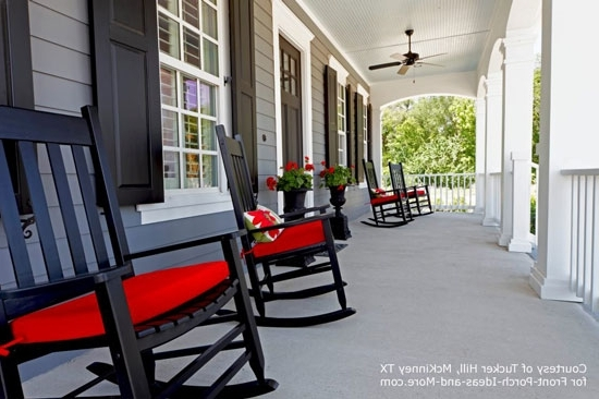 Rocking Chairs For Porch Throughout Popular Adorable Deck Rocking Chairs With Porch Rocking Chairs Rocking Chair (View 14 of 20)