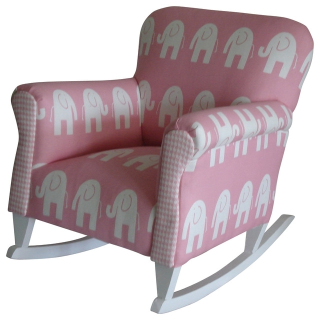 Rocking Chairs For Toddlers In Latest Charming Perfect Toddler Upholstered Rocking Chair Upholstered (View 13 of 20)