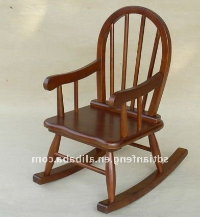 Rocking Chairs For Toddlers With Regard To Recent Remarkable Stylish Wooden Child Rocking Chair 63 Best Kids Wooden (View 16 of 20)