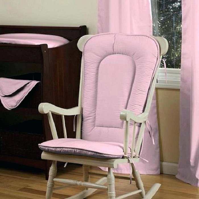 Rocking Chairs With Cushions In Most Current Rocking Chair Cushion Set How To Choose Rocking Chair With Cushion (View 11 of 20)