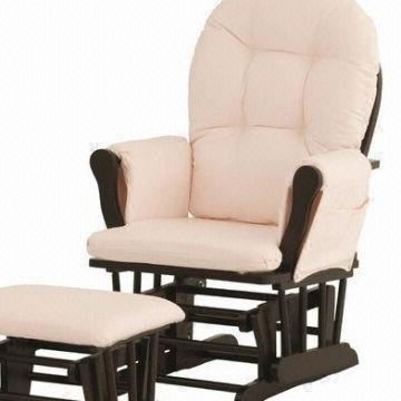 Rocking Chairs With Footrest Intended For Most Popular Rocking Chair And Footstool Contemporary Garden Recliner For Elderly (View 13 of 20)