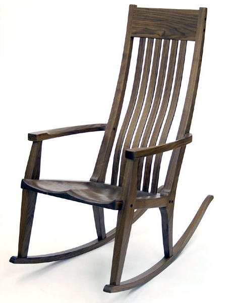 Rocking Chairs With Lumbar Support Inside Well Liked Handmade Rocking Chairsscott Morrison (View 17 of 20)