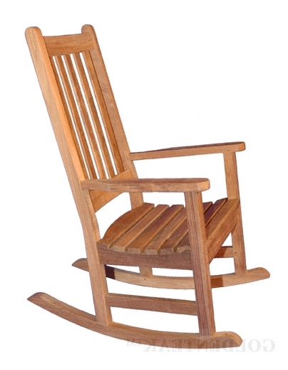Teak Rocking Chair (View 11 of 20)