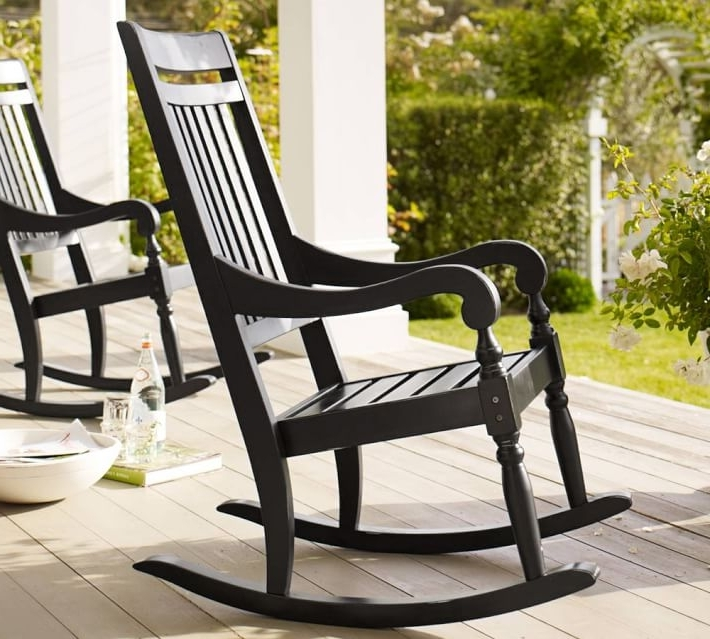 Trendy How To Choose Comfortable Outdoor Rocking Chairs – Yonohomedesign For Rocking Chair Outdoor Wooden (Gallery 18 of 20)