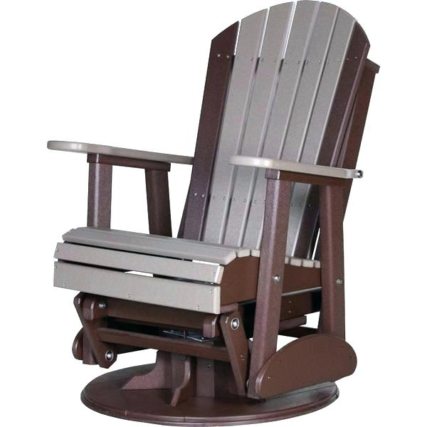 Trendy Rocking Chairs For Outside Within Garden Glider Rocking Chair – Windowshopper (View 16 of 20)