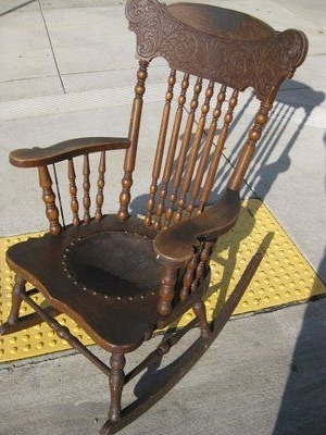 Uhuru Furniture & Collectibles: Sold With Antique Rocking Chairs (View 19 of 20)