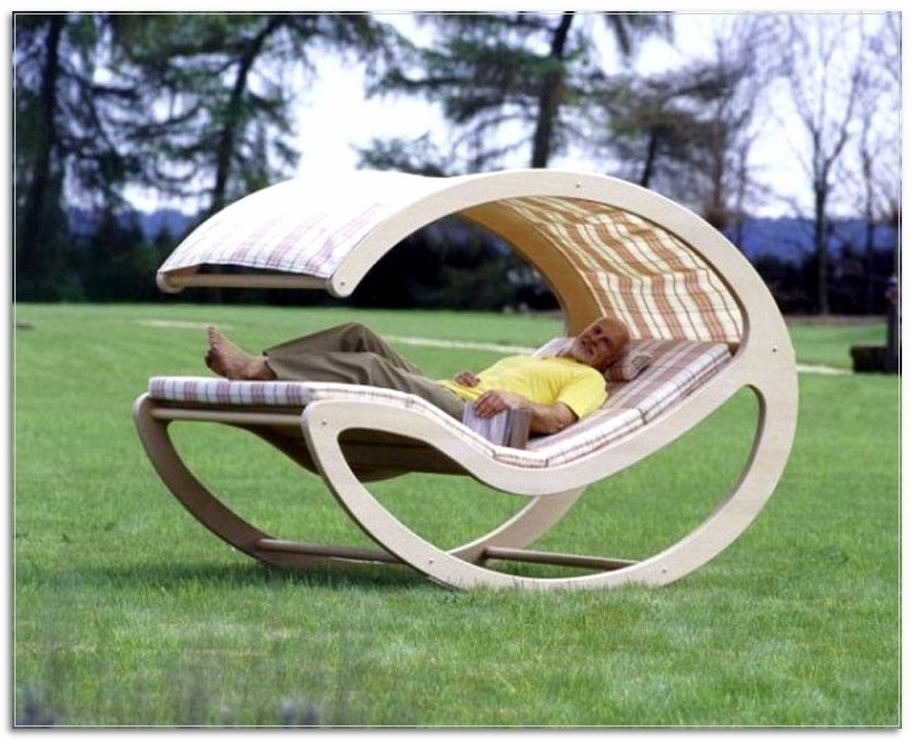 Unique Outdoor Rocking Chairs Pertaining To 2017 Unique Outdoor Tables Designs 17 Unique Patio Furniture Ideas (Gallery 12 of 20)