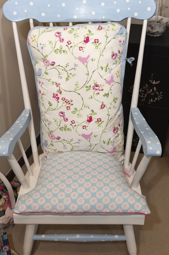 Upcycled Rocking Chairs For Recent Rocking Chair Upcycle (View 12 of 20)