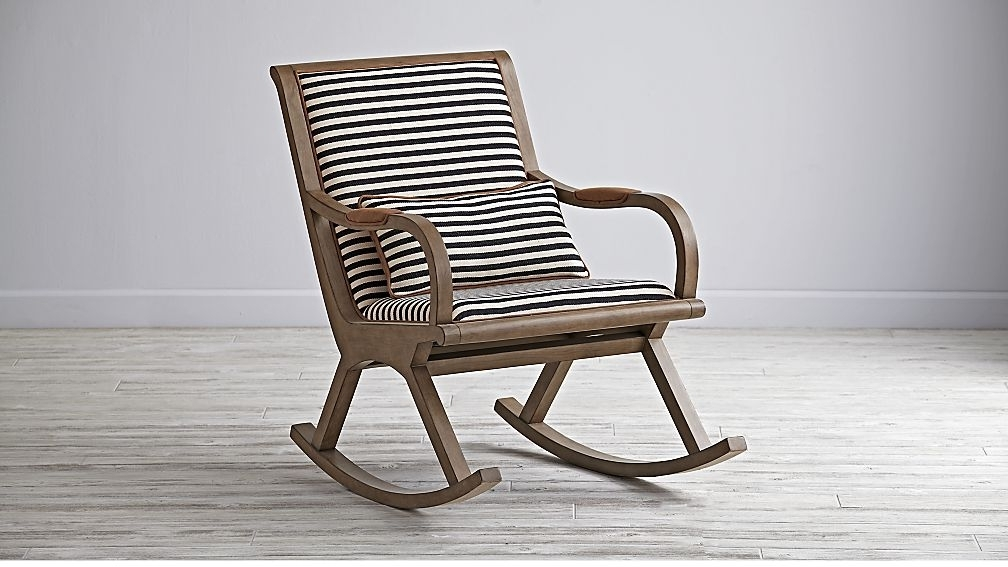 Upholstered Rocking Chairs For Sale Attractive Modern Danish Chair Inside Most Recent Rocking Chairs (Gallery 8 of 20)